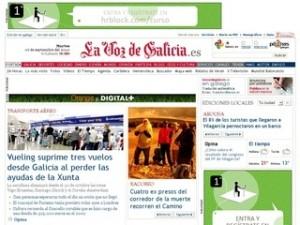 La Voz de Galicia online