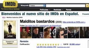 Imdb.es: Información de películas y últimos estrenos