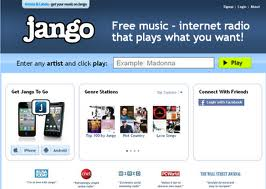 Jango.com: Radio online gratis