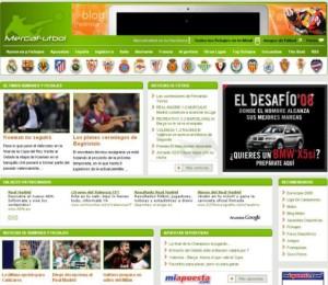 Mercafutbol.com: Noticias de fútbol y rumores de fichajes