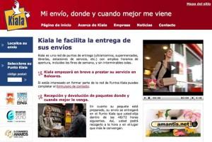 Kiala.es: Enviar paquetes a España