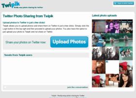 Twipik.com: Sube y comparte imágenes en Twitter
