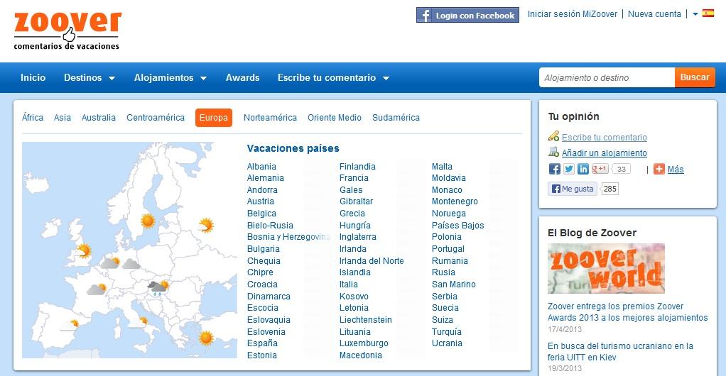 Zoover.es: Opiniones y comentarios de hoteles