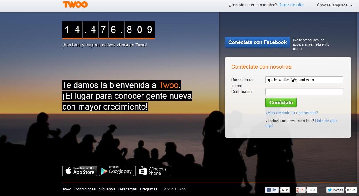 Twoo.com: Buscar el amor online