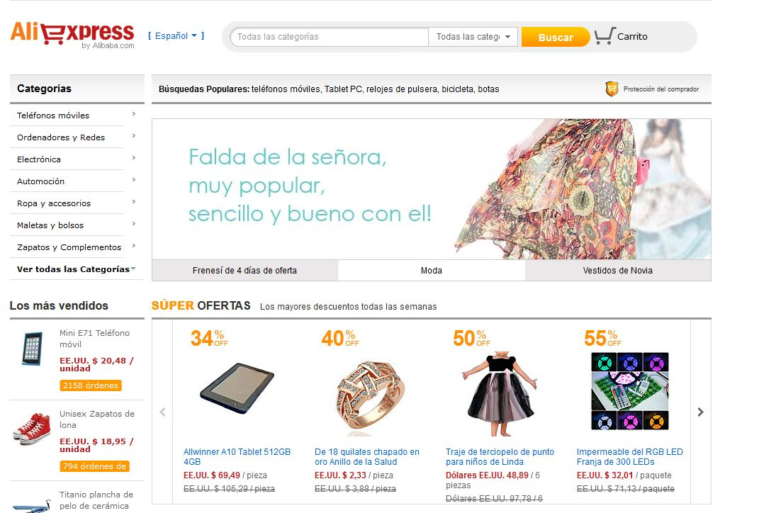 Aliexpress.com: Compras online en China