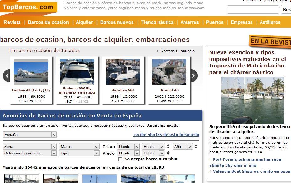 Topbarcos.com: Comprar y vender barcos y embarcaciones online