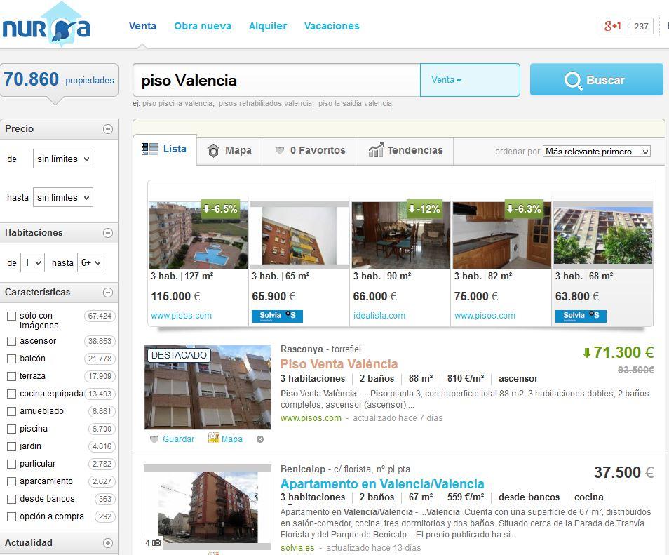 Nuroa.es: Ofertas de casas y pisos en venta