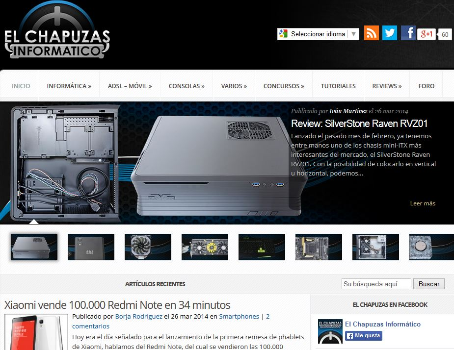 Elchapuzasinformatico.com: Noticias de tecnología e informática en general