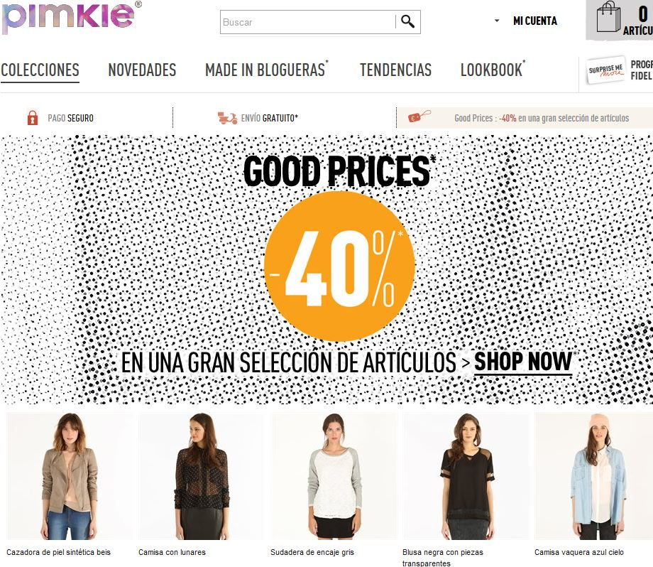 Pimkie.es: Comprar ropa femenina para mujer online
