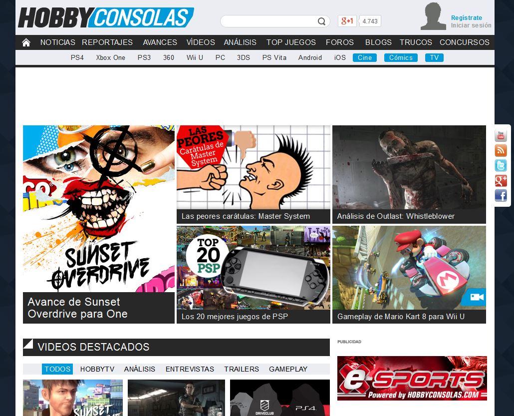 Hobbyconsolas.com: Información diaria y actualizada sobre videojuegos