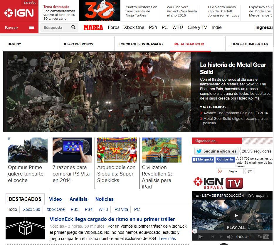 Es.IGN.com: IGN España en español