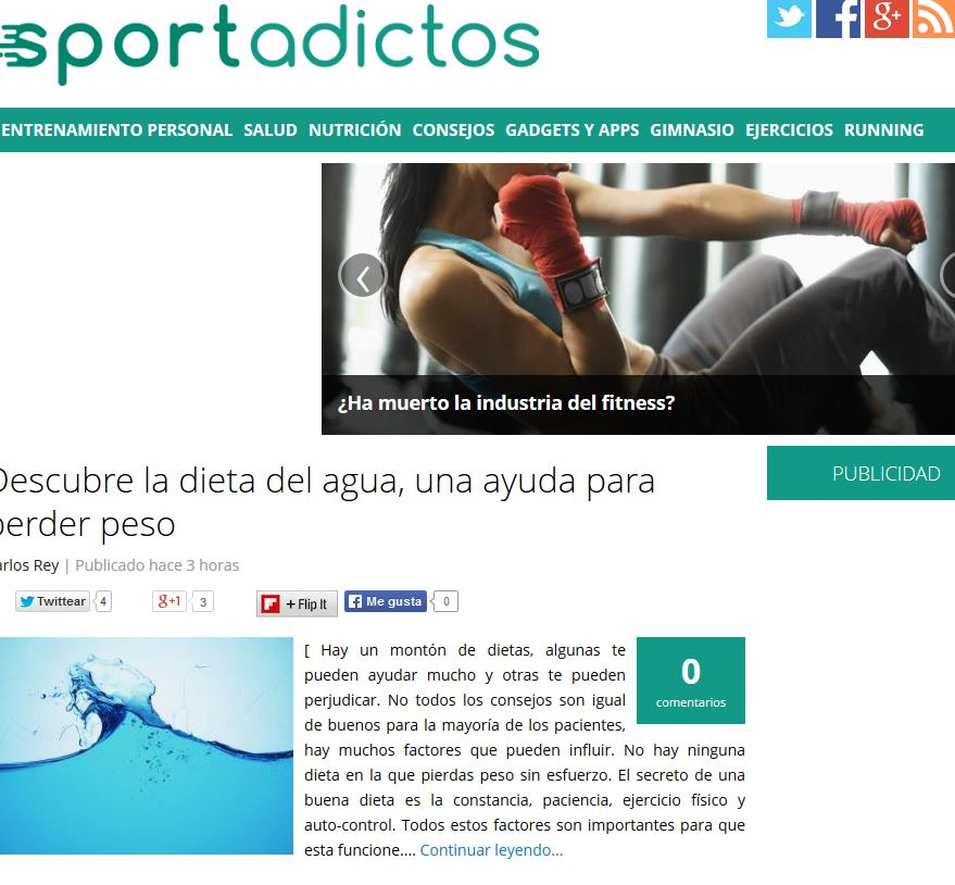 Sportadictos.com: Todo para los adictos al deporte