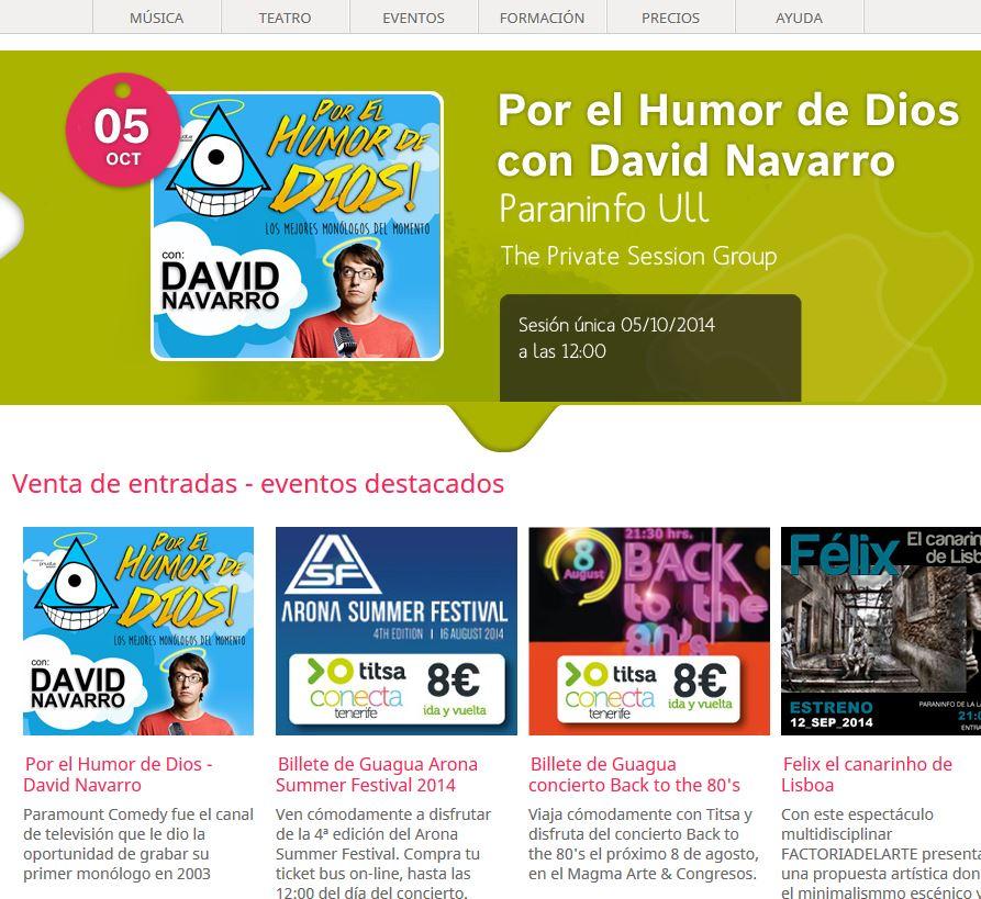 Tomaticket.es: Comprar tickets y entradas online