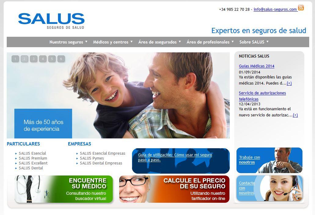 Salus-seguros.com: Contrata seguros de salur por internet