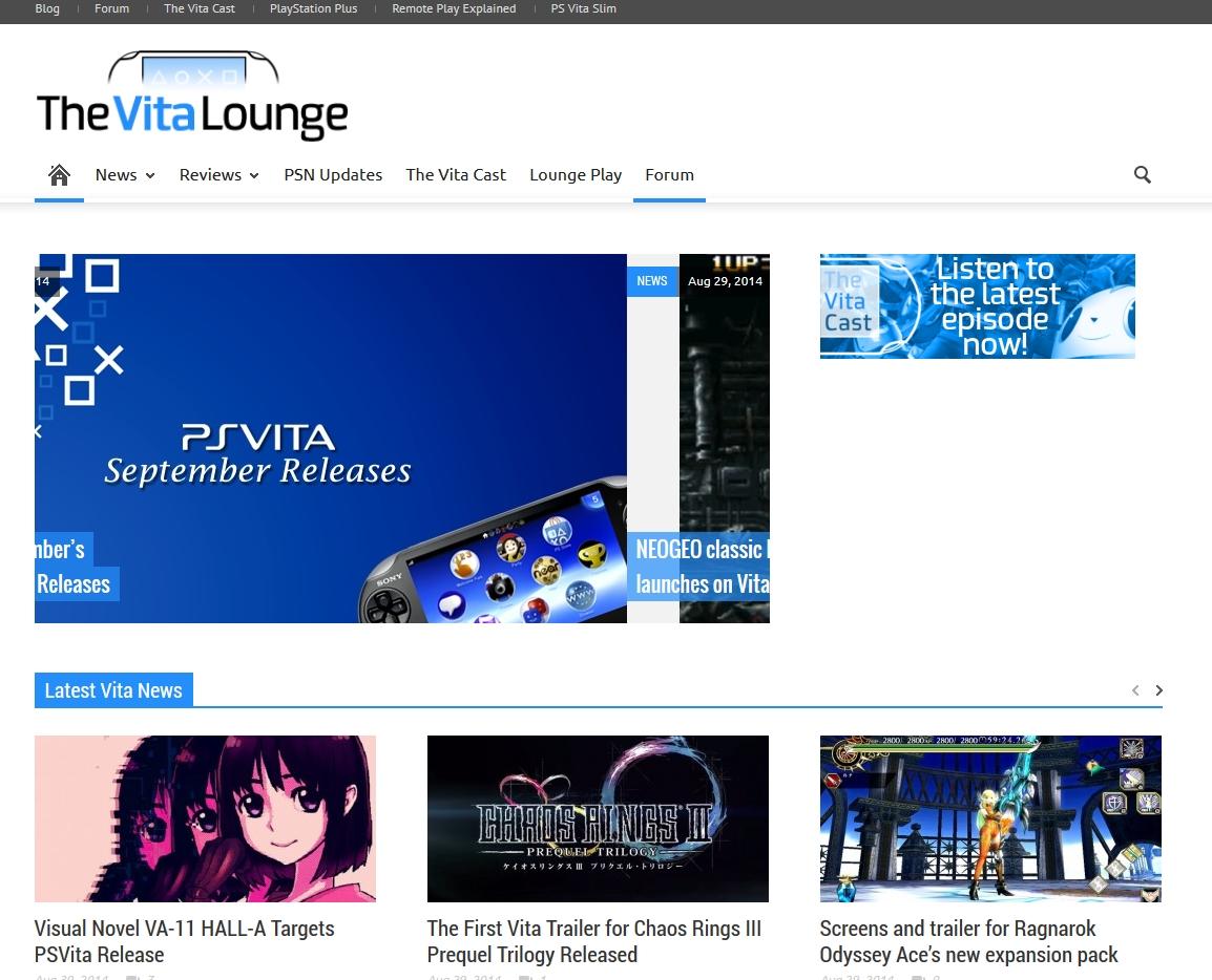 TheVitaLounge.com: Las últimas noticias de PS Vita