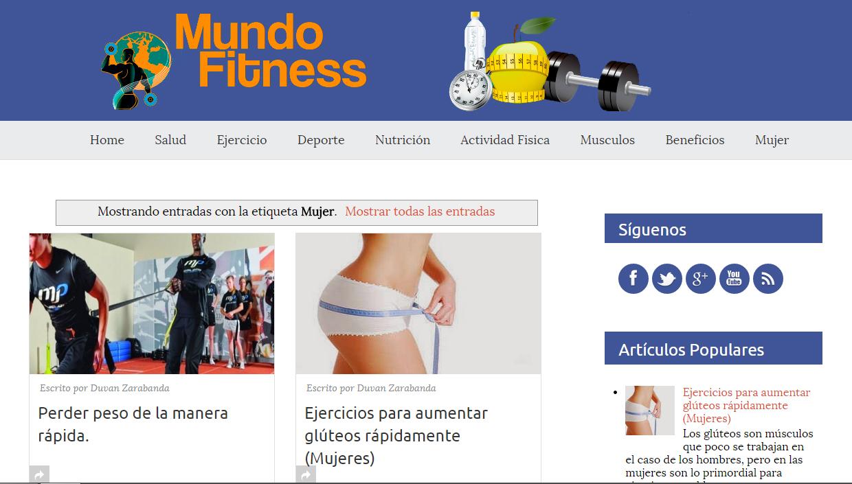 Mundofitness.org: los mejores consejos sobre fitness