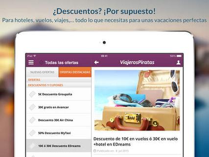 Viajeros Piratas, una web de descuentos y promociones para viajes