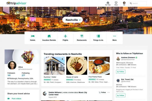 TripAdvisor, el mejor sitio para encontrar recomendaciones gastronómicas y viajeras