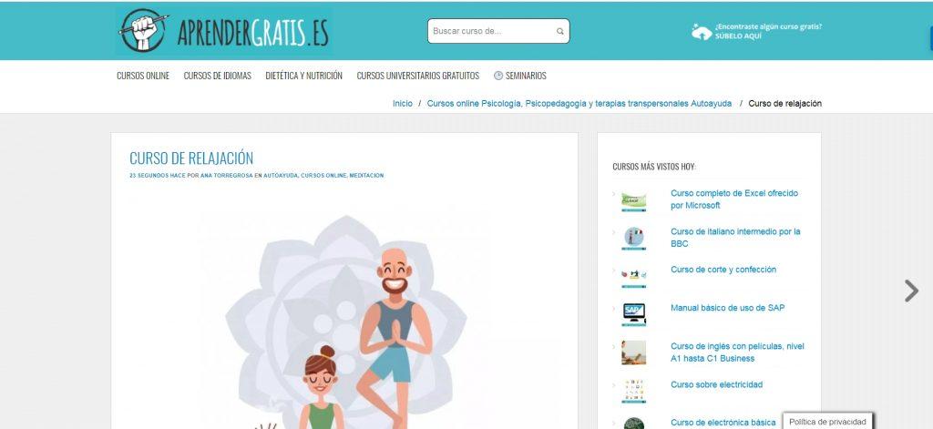 Aprender Gratis, una de las mayores plataformas de cursos online gratuitos