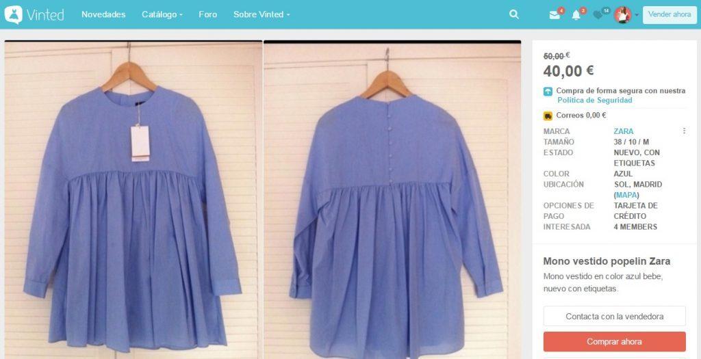 Vinted, la plataforma de compra y venta de ropa más de moda en Internet