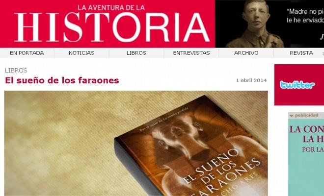 La Aventura de la Historia, una web para conocer nuestro pasado, presente y futuro