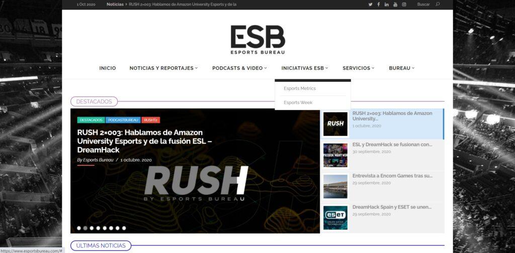 Esports Bureau, el primer diario digital sobre deportes electrónicos