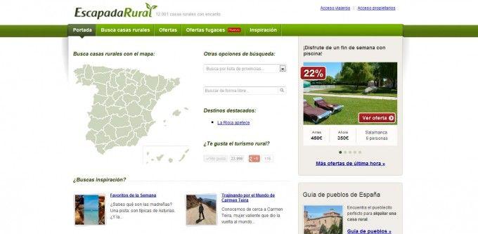 Escapada Rural, una gran alternativa para conocer la España rural